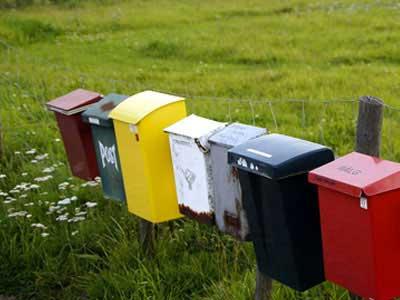 Zur Kategorie gehen: Briefkastenschilder